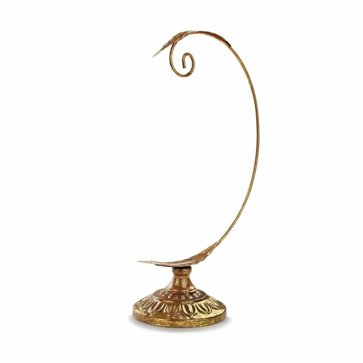 Demdaco Gold Leaves Ornament Stand