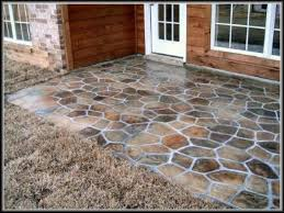 patio floor ideas concrete outdoor flooring cheap uk exteriors
