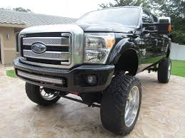 Lifted Monster Show Truck: 2015 Ford F-250 Platinum | Lifted ...