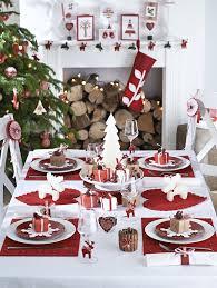 deco noel de table table de noël 15 idées de décoration