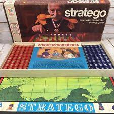 Stratego Board Game Vintage 1977 Milton Bradley Rare