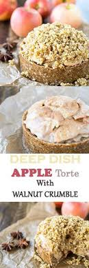 Raw Vegan And Gluten Free Apple Torte With A Creamy Filling