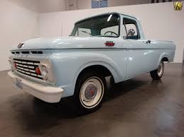 100 Unibody Truck Fall In Love With This 1963 Ford F100 Fordscom