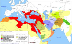 31 The Islamic states of the world from 1450 to today