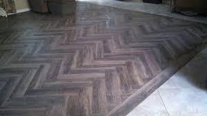 wood look floor tile herringbone pattern marciano 6 x 36