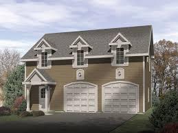 Pryor Two Car Garage Apartment Plan 059D 7511