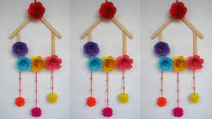 Wall Hanging Ideas For Ice Cream Sticks