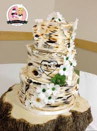 Brilliant Decoration Birch Wedding Cake Stylish Design Well Dressed Cakes By Brett