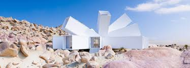100 Shipping Containers California Whitaker Studios Joshua Tree Residence Conglomerates A Cluster Of
