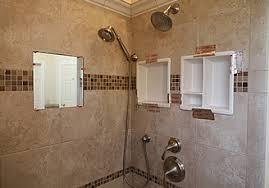 shower shelf shoo niche recessed showering shelves niches