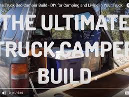 100 Truck Bed Camper How To Build The Ultimate Setup StepbyStep