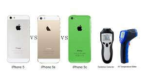 iPhone 5 vs iPhone 5s vs iPhone 5c Speed Radiation and
