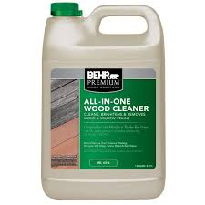 Cleaning Decking With Oxygen Bleach by Behr Premium 1 Gal All In One Wood 06301n The Home Depot