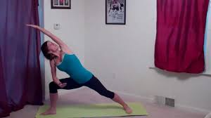 Standing Yoga Flow For Butt Thighs Legs And Back