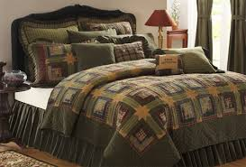 VHC Brands Authentic Tea Cabin Handmade Quilts Luxury Os