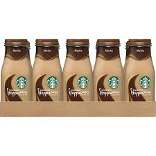 15 Pack Of 9oz Starbucks Frappuccino Drinks Mocha Flavor
