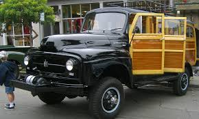 Super Rare 1954 International Harvester R 140 Woody Wagon 4x4 ...