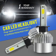aliexpress buy 72w pair h1 led bulbs 8000lm car led