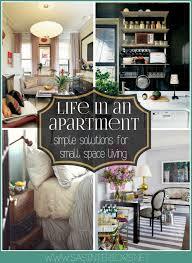 Life in an Apartment simple solutions for small space living
