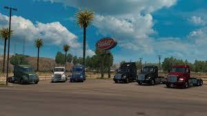 Wallpaper : 1920x1080 Px, American Truck Simulator, ATS, Kenworth ...