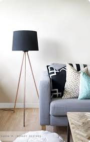 Tripod Floor Lamp Living Room KH DIY Copper Pipe Projects By Persia Lou
