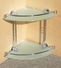 Beach Glass Bath Accessories by Details About Bathroom Accessories Shower Double Corner Frosted
