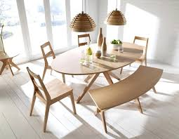 Danish Dining Room Set Furniture Two Toned Under Mid Century