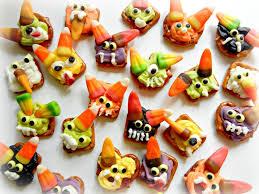 Halloween Pretzel Rod Treats by 125 Best Spooky Time Candy Pretzel Treats Images On Pinterest