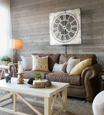 Curtains Soft White Sheers At The Windows Enhance Light And Airy Feel A Beautiful Contrast Against Rustic Gray Walls