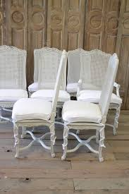 Cane Back Dining Chairs Vintage How To Paint Broyhill