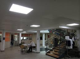 dalle led faux plafond 60 x 60 40w 4500 k plafonniers eclairage