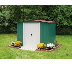 Arrow Shed Assembly Tips by Buy Arrow Metal Garden Shed 8 X 6ft At Argos Co Uk Your Online
