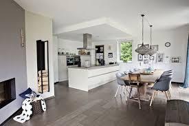 8 küche wohnzimmer übergang ideen haus bodenbelag fliesen