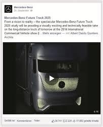 Mercedes-Benz Future Truck 2025 (Source: Mercedes Benz, 2014 [40 ...