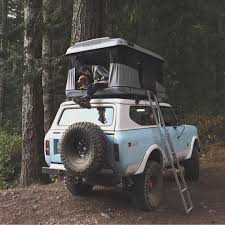Nice Combo | Scout With A Rooftop Tent Via @forgeoverland By ... Roof Top Tents Toyota Fj Cruiser Forum I Just Need Buyers Guide Hard Shell Top Tents Expedition Portal Leitner Designs Acs Rooftop Tent Mounting Kit Adventure Ready China Little Rock Camper Trailer 8 Best For Camping In 2018 Your Car Truck Jeep Tuff Stuff 4x4 Off Road Stunning That Make A Breeze Freespirit Recreation High Country Edition Medium 23 Bundaberg Roof Top Tent 23zero Nuthouse Industries Ventura Deluxe 14