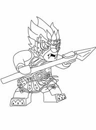 Lego Chima Longtooth Steady With Spear Coloring Pages Batch