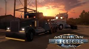 100 Tow Truck Simulator American W900 Wrecker YouTube