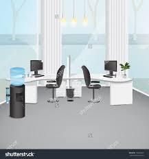 Office Room Stock Vectors Vector Clip Art Shutterstock Modern Illustration Graphic Design Editable For Your