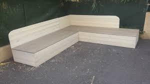 canapé en palette de bois canape palette bois cgrio