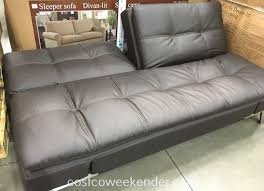 Broyhill Laramie Microfiber Sofa In Distressed Brown by Lifestyle Solutions Euro Lounger Item 1074710 At Costco 400 For