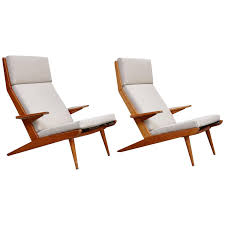 Pair Of Koene Oberman, Mid Century Modern, Wood High Back ... Midcentury Modern Comfortable Light Grey Cashmere Lounge Chair High Back Buy Mid Century Chairhigh Chairlounge Georg Jsen Mahogany And Rope 1967s Danish High Back Mid Century Lounge Chair 1970s Design Market Hughes Refinished Solid Teak Mcm Recling Perfect Will Be Upholstered For You Vintage Dux La Authentic Milo Baughman Reclinerlounge In Black 1960s Midcentury Finds Set Of His Hers Parlor Chairs Whosale Ding Room Fniture Adrian Pearsall Slim Jim 1865c