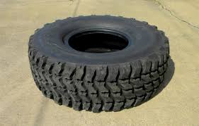 Goodyear MV/T 395/85R20 Radial Tire, Military Tread