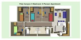 Cal Poly Cerro Vista Floor Plans by Cal Poly Housing Floor Plans 100 Images Food And Housing Bsc