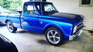 100 Classic Truck Rims 1967 Chevy C10 With Torq Thrust II Wheels