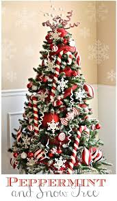 Peppermint Christmas Tree Theme By UCreate