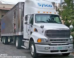 100 Sysco Trucking TRUCK TRAILER Transport Express Freight Logistic Diesel Mack