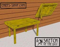 pdf wall mounted folding drafting table plans plans diy free bunk