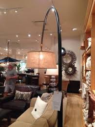 Pottery Barn Discontinued Table Lamps by Cfl Chelsea Sectional Floor Task Lamp With Burlap Shade Bronze