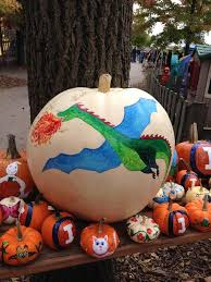Illinois Pumpkin Patch 2015 by Pumpkin Painting Dragon Curtis Orchard U0026 Pumpkin Patch