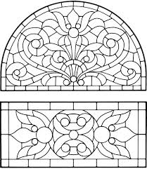 Stained Glass Window Illustrations